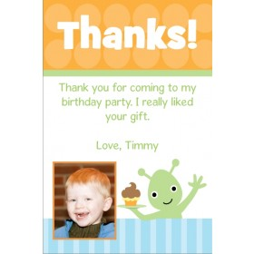 Alien Thank You Cards