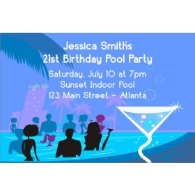 Pool Party Invitations 6
