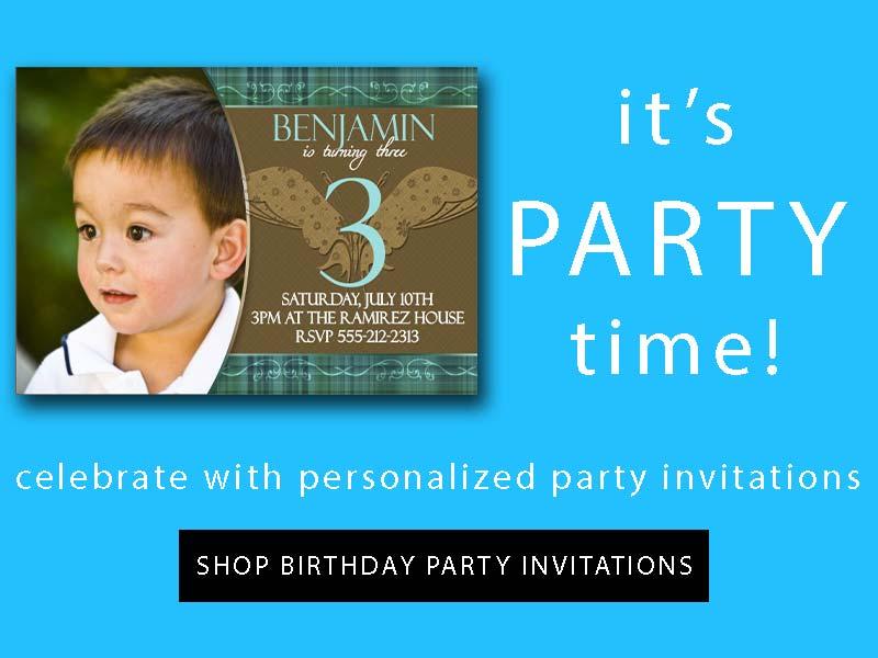 buy birthday party invitations